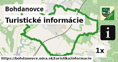 ilustračný obrázok k Turistické informácie, Bohdanovce