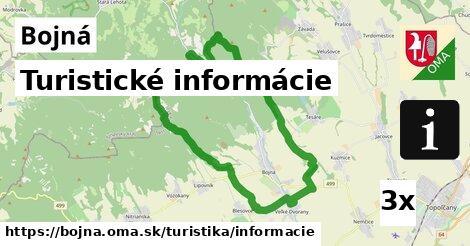 turistické informácie v Bojná