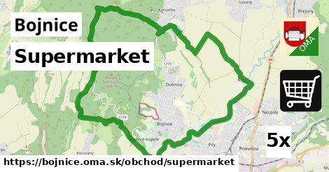 supermarket v Bojnice