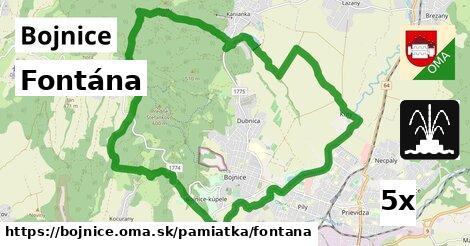 Fontána, Bojnice