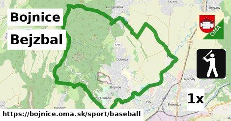Bejzbal, Bojnice