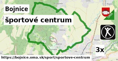 športové centrum, Bojnice