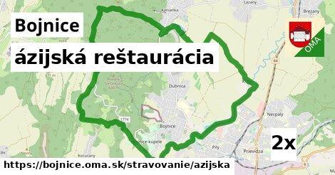 ázijská reštaurácia, Bojnice