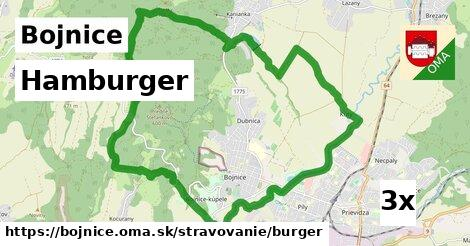 ilustračný obrázok k Hamburger, Bojnice