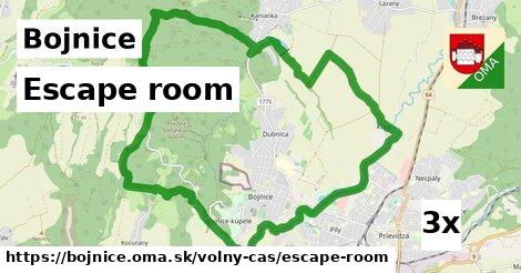 escape room v Bojnice