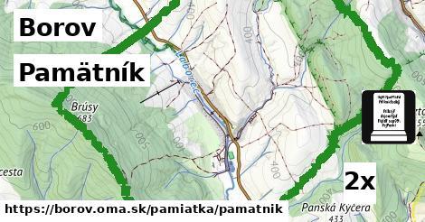pamätník v Borov