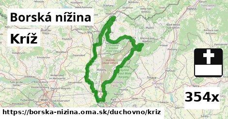 ilustračný obrázok k Kríž, Borská nížina