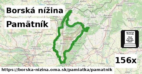 ilustračný obrázok k Pamätník, Borská nížina