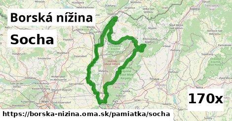ilustračný obrázok k Socha, Borská nížina