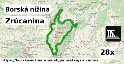 ilustračný obrázok k Zrúcanina, Borská nížina