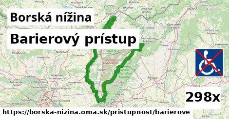ilustračný obrázok k Barierový prístup, Borská nížina