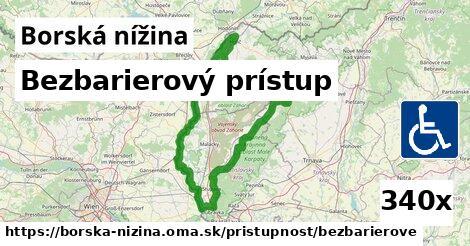 ilustračný obrázok k Bezbarierový prístup, Borská nížina
