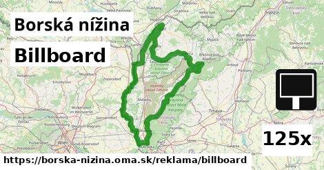 ilustračný obrázok k Billboard, Borská nížina