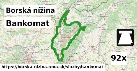 ilustračný obrázok k Bankomat, Borská nížina