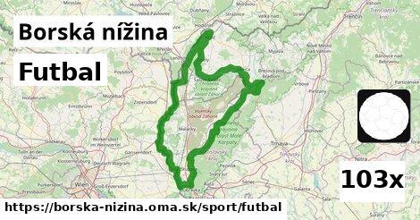 ilustračný obrázok k Futbal, Borská nížina