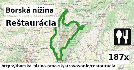 ilustračný obrázok k Reštaurácia, Borská nížina