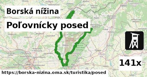 ilustračný obrázok k Poľovnícky posed, Borská nížina