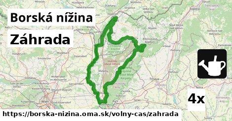 ilustračný obrázok k Záhrada, Borská nížina