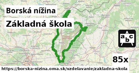 ilustračný obrázok k Základná škola, Borská nížina