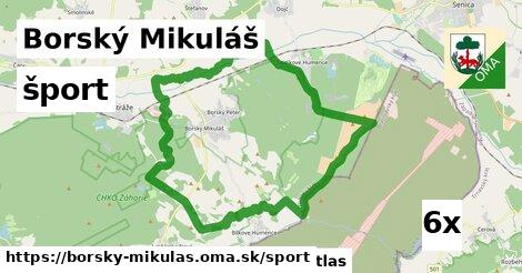 šport v Borský Mikuláš