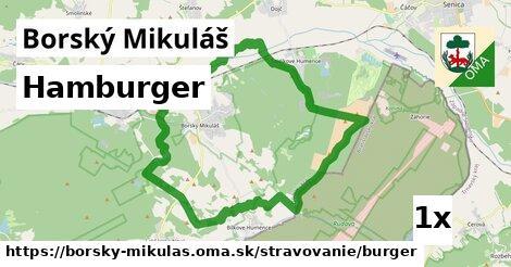 Hamburger, Borský Mikuláš
