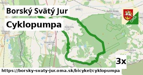 cyklopumpa v Borský Svätý Jur