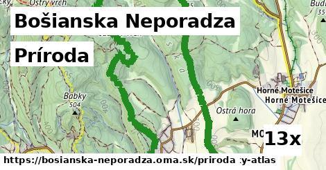 príroda v Bošianska Neporadza