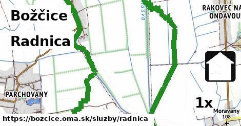 ilustračný obrázok k Radnica, Božčice