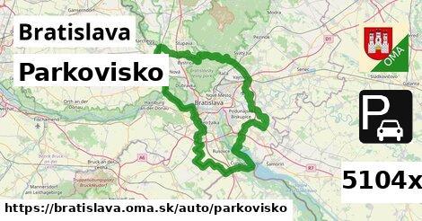 parkovisko v Bratislava