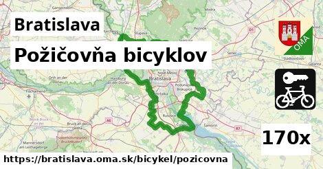 požičovňa bicyklov v Bratislava