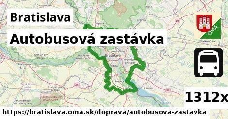 autobusová zastávka v Bratislava