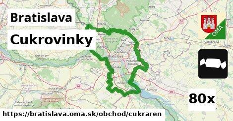 Cukrovinky, Bratislava