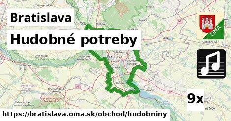 Hudobné potreby, Bratislava