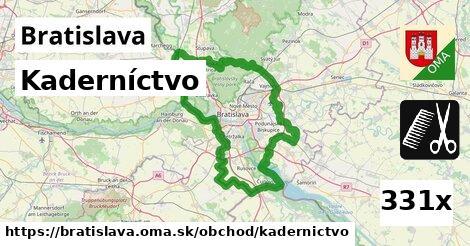 Kaderníctvo, Bratislava