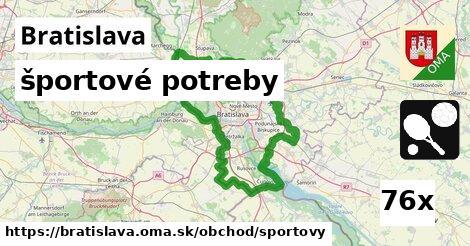 ilustračný obrázok k športové potreby, Bratislava