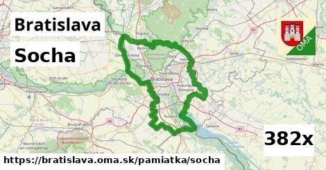 Socha, Bratislava