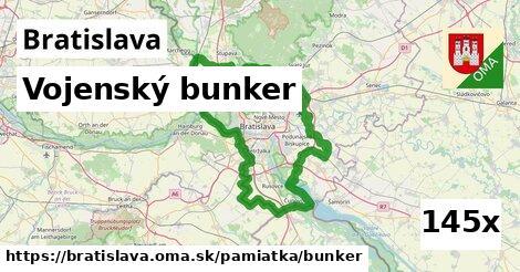 vojenský bunker v Bratislava