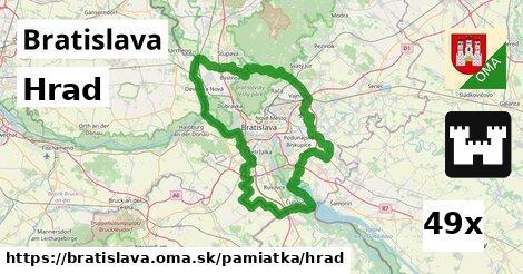 hrad v Bratislava