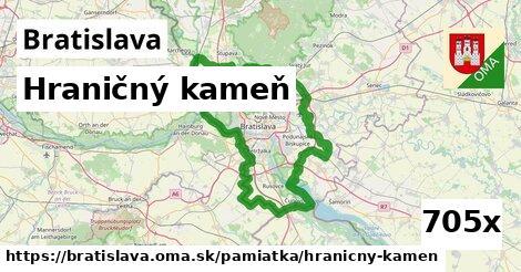 ilustračný obrázok k Hraničný kameň, Bratislava