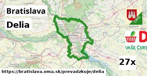 Delia v Bratislava