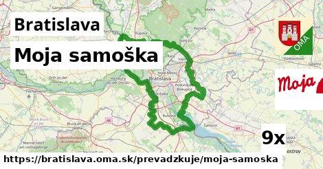 Moja samoška v Bratislava