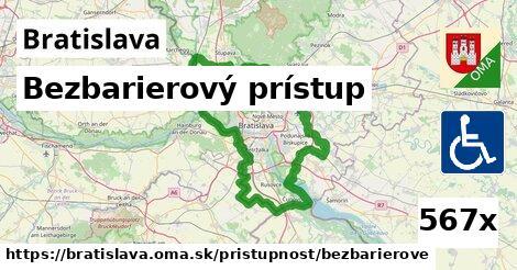 ilustračný obrázok k Bezbarierový prístup, Bratislava