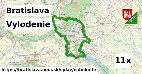 ilustračný obrázok k Vylodenie, Bratislava
