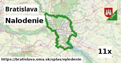 ilustračný obrázok k Nalodenie, Bratislava