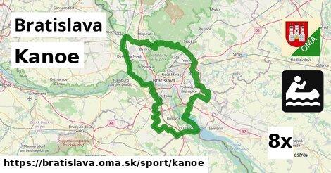 Kanoe, Bratislava