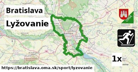 ilustračný obrázok k Lyžovanie, Bratislava