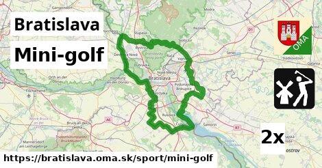 ilustračný obrázok k Mini-golf, Bratislava
