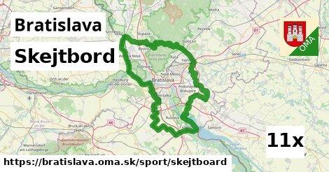 ilustračný obrázok k Skejtbord, Bratislava