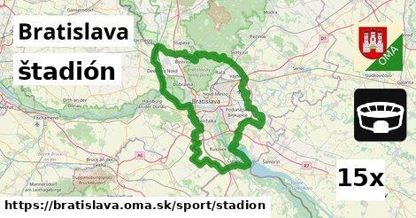 ilustračný obrázok k štadión, Bratislava