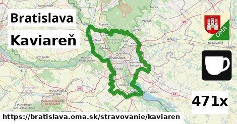 Kaviareň, Bratislava